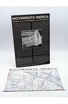 Cubierta de CARPETA EXPOSICIÓN MOVIMIENTO INERCIA. VALENCIA DEL 24 DE SEPTIEMBRE AL 5 DE OCTUBRE 1996. Valencia 1996