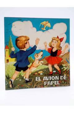 Cubierta de CUENTOS TORNASOL 6. EL AVIÓN DE PAPEL (E. Sotillos / Moreno) Toray 1961