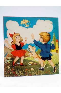 Contracubierta de CUENTOS TORNASOL 6. EL AVIÓN DE PAPEL (E. Sotillos / Moreno) Toray 1961