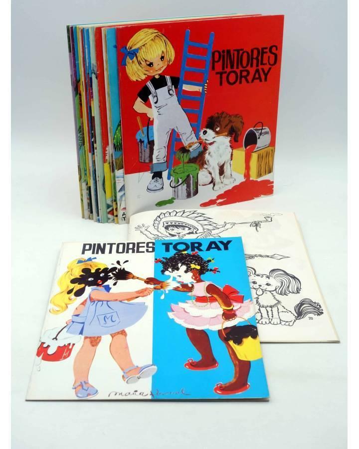 Cubierta de PINTORES TORAY SERIE G. LOTE DE 19 DIFERENTES (Antonio Ayné / María Pascual) Toray 1992