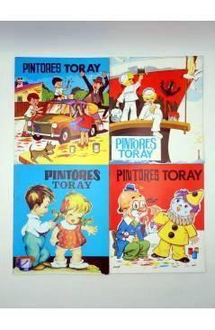 Muestra 2 de PINTORES TORAY SERIE G. LOTE DE 19 DIFERENTES (Antonio Ayné / María Pascual) Toray 1992