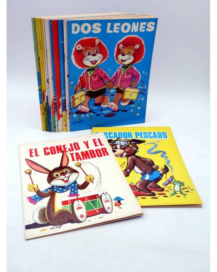 Cubierta de CUENTOS ABUELITA 1 a 15. COLECCIÓN COMPLETA (Eugenio Sotillos / Antonio Ayné) Toray 1973
