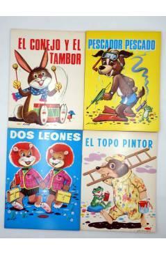 Contracubierta de CUENTOS ABUELITA 1 a 15. COLECCIÓN COMPLETA (Eugenio Sotillos / Antonio Ayné) Toray 1973