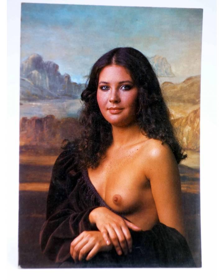 Cubierta de POSTAL STAR GRAFIC 30. LA GIOCONDA (Toni Riera) Producciones Editoriales 1981. REVISTA STAR