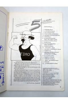 Muestra 1 de FANZINE ZERO COMICS 5. ESTRELLA INVITADA: MOEBIUS (Vvaa) Antonio Garcés 1982