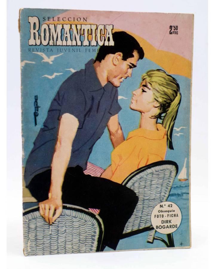 Cubierta de SELECCIÓN ROMÁNTICA 42. REVISTA JUVENIL FEMENINA (Vvaa) Ibero Mundial 1962. SIN POSTER