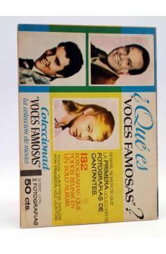 Contracubierta de SELECCIÓN ROMÁNTICA 65. REVISTA JUVENIL FEMENINA (Vvaa) Ibero Mundial 1962. SIN POSTER