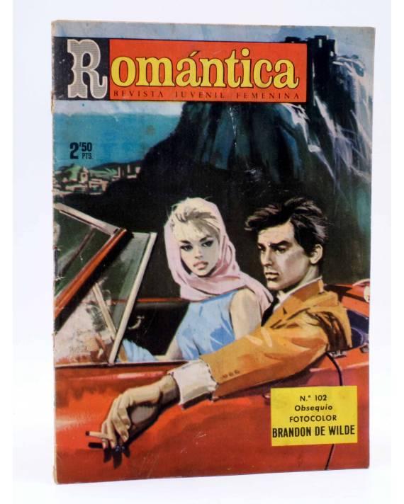 Cubierta de SELECCIÓN ROMÁNTICA 102. REVISTA JUVENIL FEMENINA (Vvaa) Ibero Mundial 1963. SIN POSTER