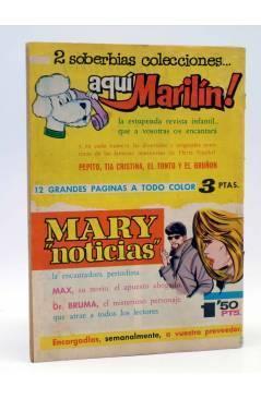 Contracubierta de SELECCIÓN ROMÁNTICA 102. REVISTA JUVENIL FEMENINA (Vvaa) Ibero Mundial 1963. SIN POSTER