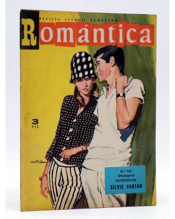 Cubierta de SELECCIÓN ROMÁNTICA 151. REVISTA JUVENIL FEMENINA (Vvaa) Ibero Mundial 1964. SIN POSTER