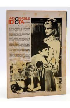 Contracubierta de SELECCIÓN ROMÁNTICA 151. REVISTA JUVENIL FEMENINA (Vvaa) Ibero Mundial 1964. SIN POSTER