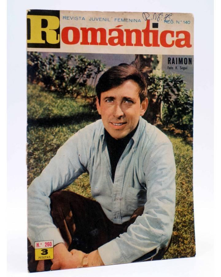 Cubierta de SELECCIÓN ROMÁNTICA 260. REVISTA JUVENIL FEMENINA (Vvaa) Ibero Mundial 1966. SIN POSTER