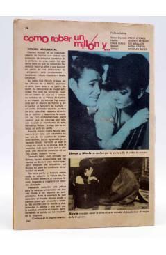 Contracubierta de SELECCIÓN ROMÁNTICA 260. REVISTA JUVENIL FEMENINA (Vvaa) Ibero Mundial 1966. SIN POSTER
