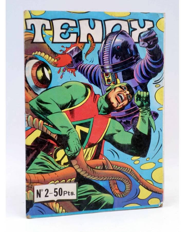 Cubierta de TENAX 2. EL MOTÍN DEL MUSTANG (No Acreditado) Maisal 1979