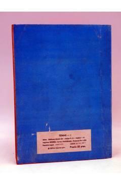 Contracubierta de TENAX 2. EL MOTÍN DEL MUSTANG (No Acreditado) Maisal 1979