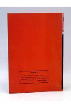 Contracubierta de TENAX 3. EL SECRETO DE TENAX (No Acreditado) Maisal 1980