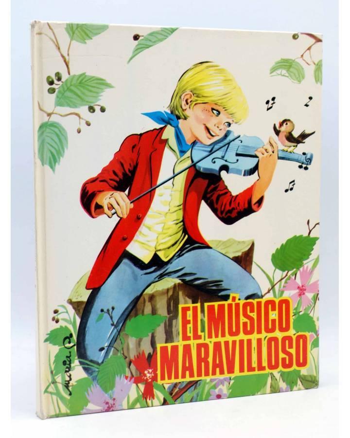 Cubierta de CUENTOS CLÁSICOS 20. EL MÚSICO MARAVILLOSO (Sotillos / María Pascual) Toray 1965