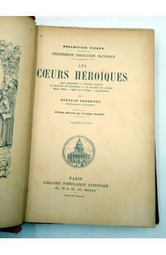 Muestra 1 de COLLECTION PICARD. LES COEURS HEROÏQUES (Gustave Derenne) Librairie d'Education Nationale Circa 1900