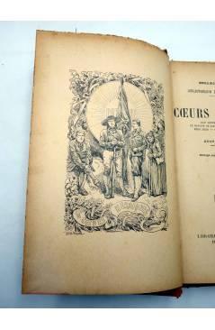 Muestra 2 de COLLECTION PICARD. LES COEURS HEROÏQUES (Gustave Derenne) Librairie d'Education Nationale Circa 1900