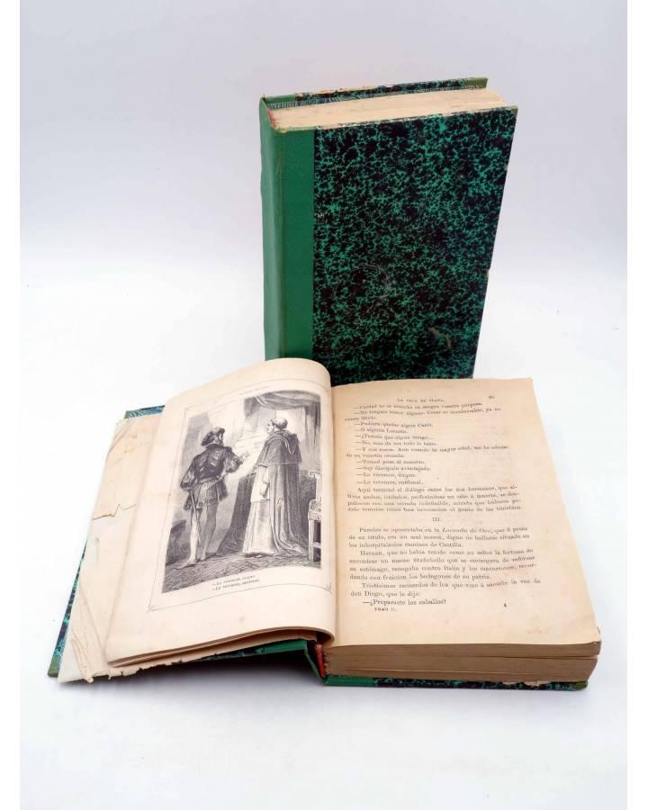 Cubierta de LA CRUZ DE PLATA. MEMORIAS DE DIEGO CARA DE PAREDES (Florencio Moreno Godino) Miguel Guijarro 1868
