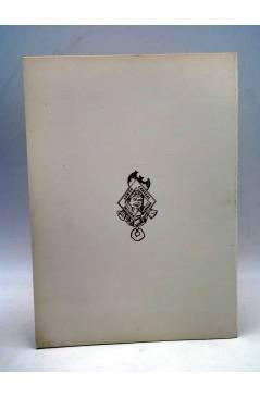 Contracubierta de DISCURSO ANTONIO MINGOTE. IV JUEGOS FLORALES DEL HUMOR. Junta Central Fallera 1969