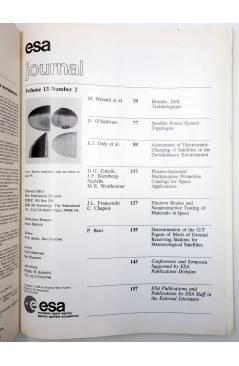 Muestra 1 de REVISTA ESA JOURNAL VOL. 13 89/2. AGENCIA ESPACIAL EUROPEA (Vvaa) European Space Agency 1989