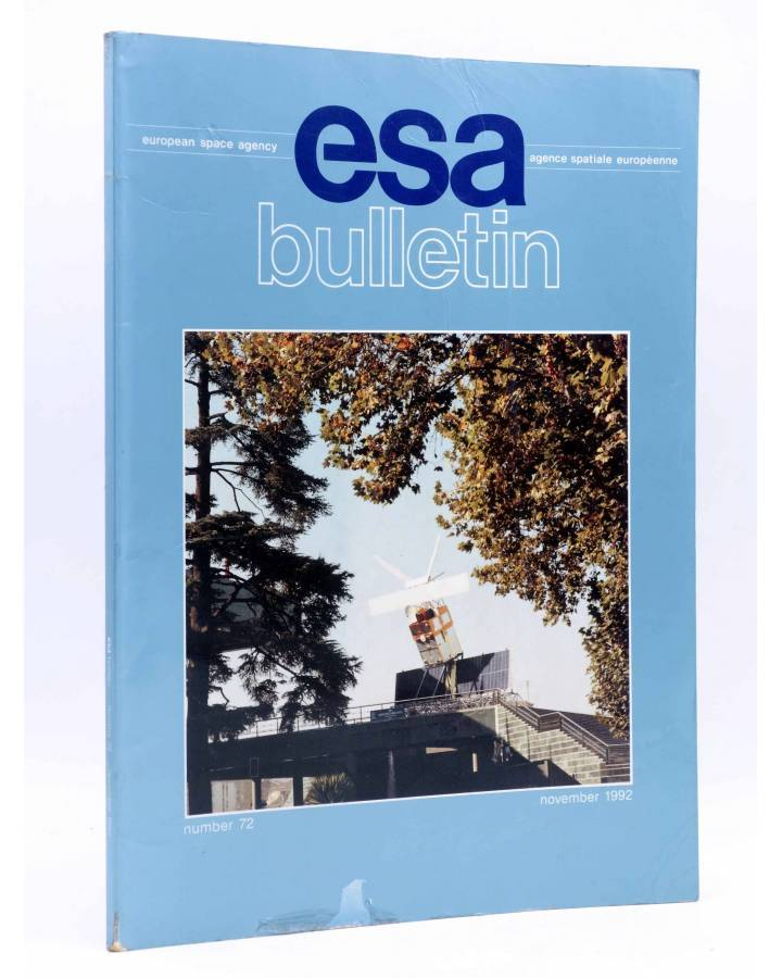 Cubierta de REVISTA ESA BULLETIN 72. 33909 (Vvaa) European Space Agency 1992