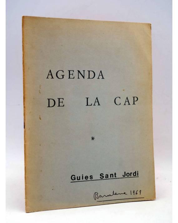 Cubierta de AGENDA DE LA CAP. Guíes Sant Jordi 1969. ESCULTISMO