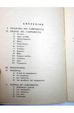 Muestra 1 de COLECCIÓN B.P 4. CAMPAMENTO (Vvaa) SIPE 1966. ESCULTISMO