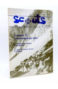 Cubierta de SCOUTS. REVISTA DEL MOVIMENT ESCOLTA DE VALENCIA 13. CASTELLÓ 17 (Vvaa) MEV-MSC 1990. ESCULTISMO