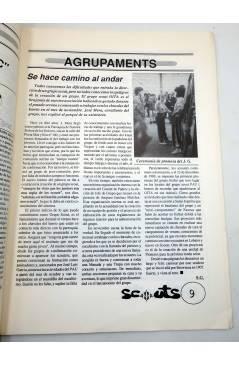 Muestra 2 de SCOUTS. REVISTA DEL MOVIMENT ESCOLTA DE VALENCIA 13. CASTELLÓ 17 (Vvaa) MEV-MSC 1990. ESCULTISMO
