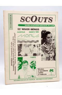Cubierta de SCOUTS. REVISTA DEL MOVIMENT ESCOLTA DE VALENCIA 6. II (Vvaa) MEV-MSC 1988. ESCULTISMO