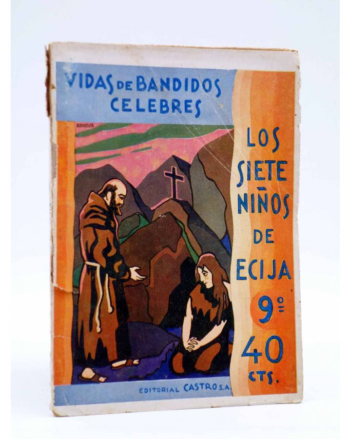 Cubierta de LOS SIETE NIÑOS DE ÉCIJA 9. LA MUERTA RESUCITADA (José L. Barberán / Palacios) Castro 1931
