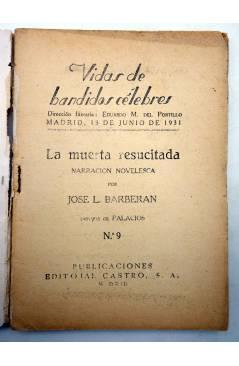 Muestra 2 de LOS SIETE NIÑOS DE ÉCIJA 9. LA MUERTA RESUCITADA (José L. Barberán / Palacios) Castro 1931