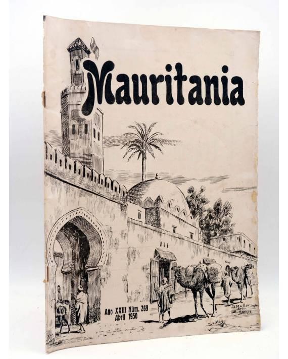 Cubierta de MAURITANIA REVISTA MENSUAL ILUSTRADA 269. TANGER MARRUECOS (Vvaa) PP Franciscanos 1950