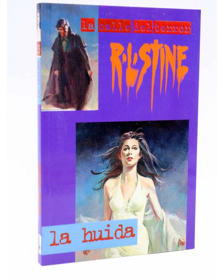 Cubierta de LA CALLE DEL TERROR 23. LA HUIDA (R.L. Stine) B 1997