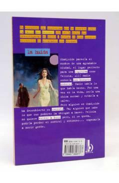 Contracubierta de LA CALLE DEL TERROR 23. LA HUIDA (R.L. Stine) B 1997