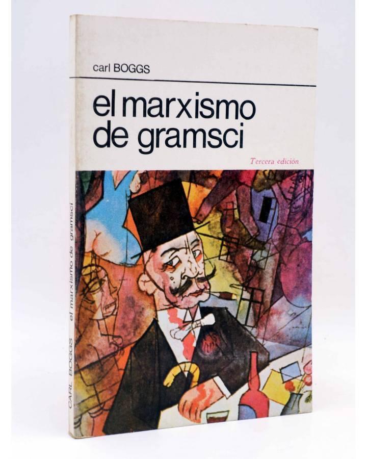Cubierta de LA RED DE JONAS. EL MÁRXISMO DE GRAMSCI (Carl Boggs) Premia 1980