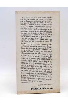 Contracubierta de LOS BRAZOS DE LUCAS 15. EL PÁLIDO PIE DE LULÚ (Hernán Lavin Cerda) Premia 1979