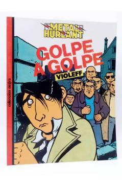 Cubierta de METAL HURLANT COLECCIÓN NEGRA 25. GOLPE A GOLPE (Violeff) Eurocomic 1985