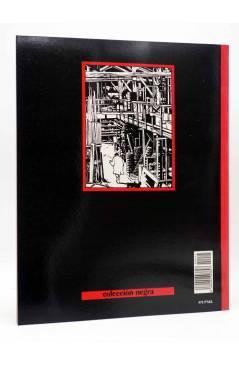 Contracubierta de METAL HURLANT COLECCIÓN NEGRA 25. GOLPE A GOLPE (Violeff) Eurocomic 1985