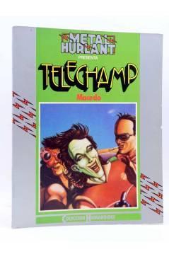 Cubierta de METAL HURLANT COLECCIÓN HUMANOIDES 2. TELECHAMP (Macedo) Nueva Frontera 1981
