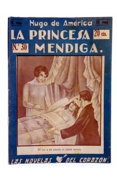 Muestra 1 de LAS NOVELAS DEL CORAZÓN. LA PRINCESA MENDIGA 30 (Hugo De América) Vecchi Circa 1920