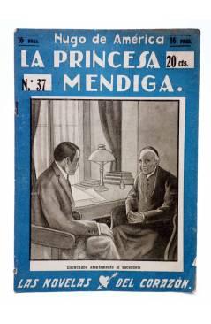 Muestra 1 de LAS NOVELAS DEL CORAZÓN. LA PRINCESA MENDIGA 37 (Hugo De América) Vecchi Circa 1920