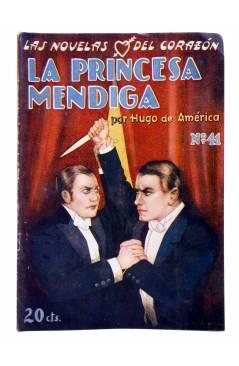Muestra 1 de LAS NOVELAS DEL CORAZÓN. LA PRINCESA MENDIGA 41 (Hugo De América) Vecchi Circa 1920