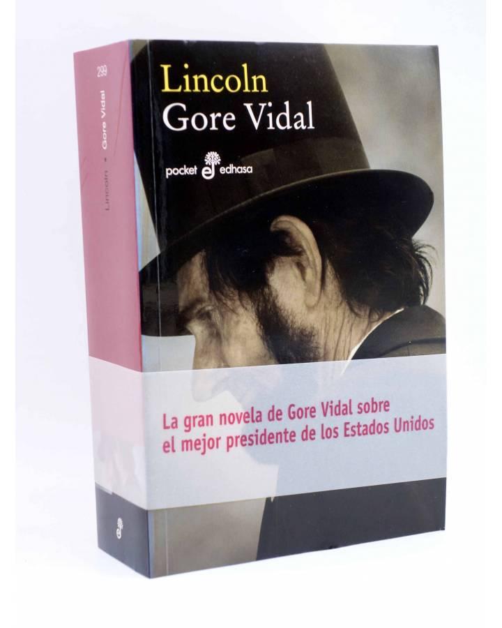 Cubierta de LINCOLN (Gore Vidal) Edhasa 2008