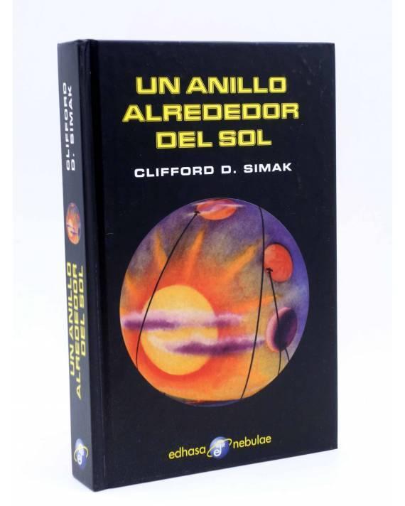 Cubierta de NEBULAE. UN ANILLO ALREDEDOR DEL SOL (Clifford D Simak) Edhasa 2003