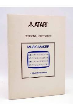 Cubierta de CARPETA VACÍA ATARI MUSIC MAKER. PERSONAL SOFTWARE. Music Sales Limited. AÑOS 80