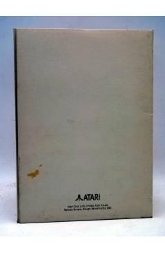 Contracubierta de CARPETA VACÍA ATARI MUSIC MAKER. PERSONAL SOFTWARE. Music Sales Limited. AÑOS 80