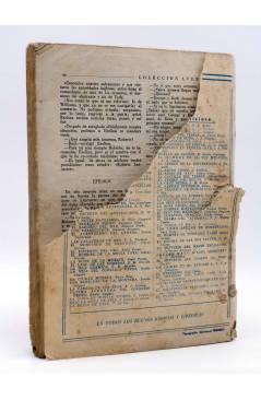 Contracubierta de COLECCIÓN AVENTURAS - POLICIACA 81. P.X.-21 PX-21 (T.S. Stephan) Marisal 1942